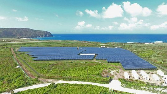 System Solution From SMA Provides Caribbean Island with 100% Solar Power Supply