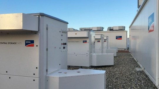 SMA System Technology Deployed in Europe's Largest Battery Storage Project