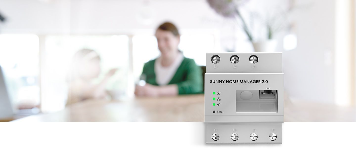 The new, compact Sunny Home Manager 2.0.