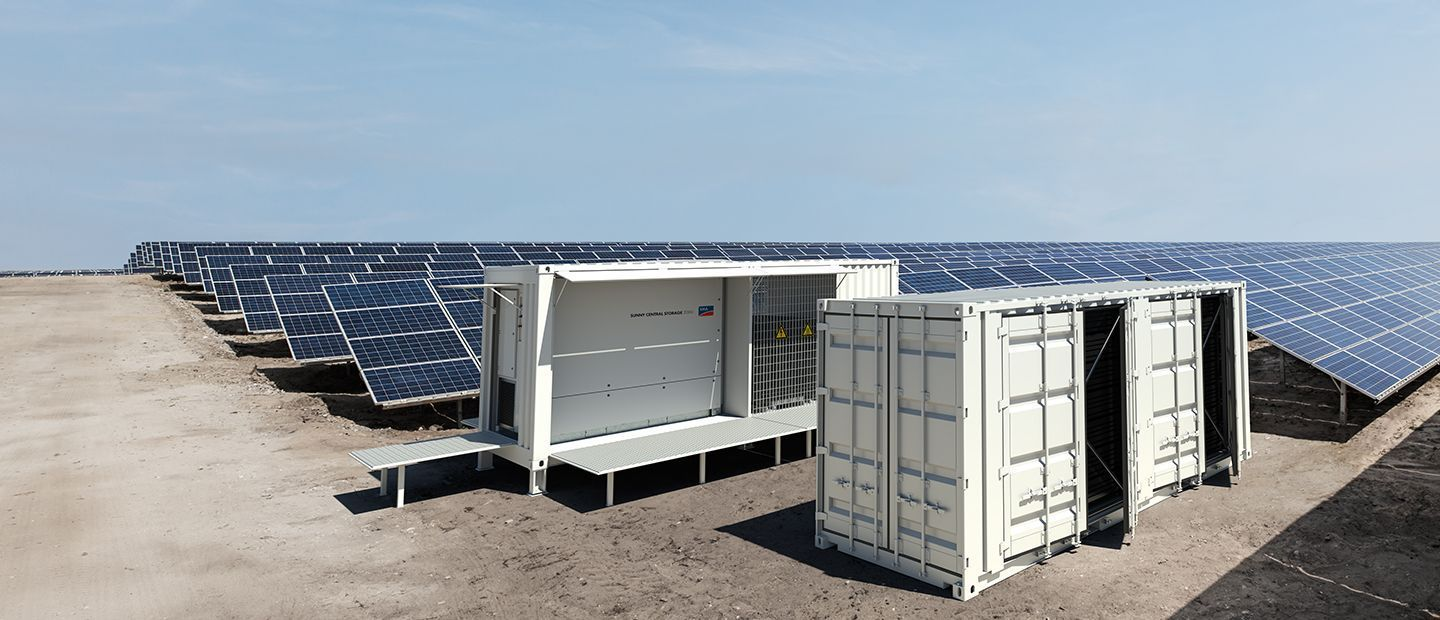 SUNNY CENTRAL STORAGE 2200 / 2500-EV Inverter for Large-Scale Battery Storage Systems